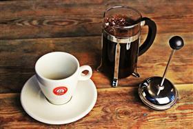 Press-filter Coffee